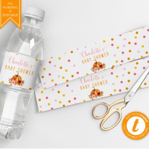 Printable Little Pumpkin Drink Labels