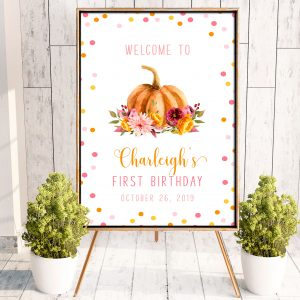 Printable Little Pumpkin Poster